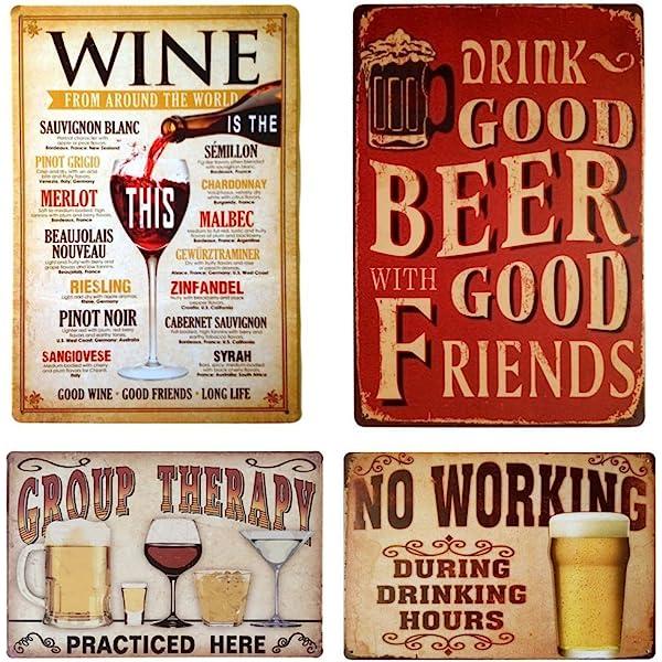 Art Pub Decoration Metal Tin Poster Arrow Sign Vintage Plaque Retro Picture