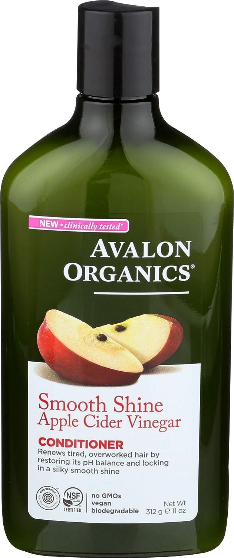 Avalon Organics, Conditioner Apple Cider Vine, 11 Ounce