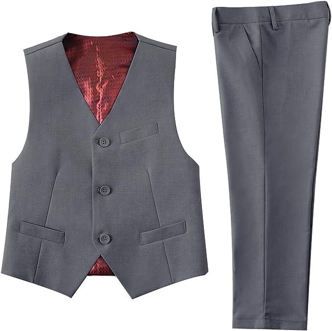 Amazon.com: NaineLa - Traje formal para niño: Clothing