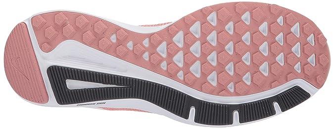 Amazon.com | Nike Womens Quest Running Shoes (Rust Summit White/Pink Ti 600), 7.5 UK | Road Running
