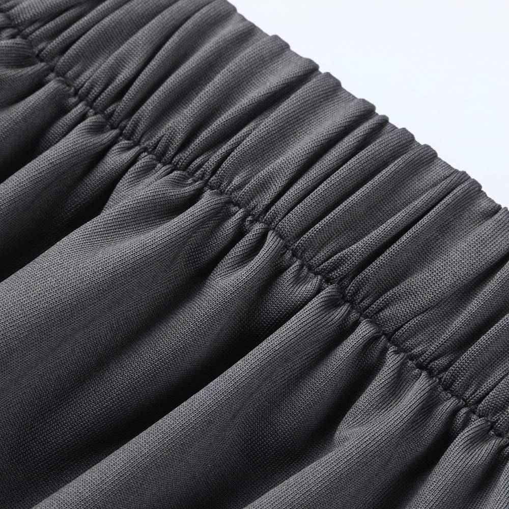 Mens Yoga Pants,Casual Solid Loose Sweatpants Comfortable Jogger Trousers Elastic Waist Dancing Slacks by NewlyBlouW