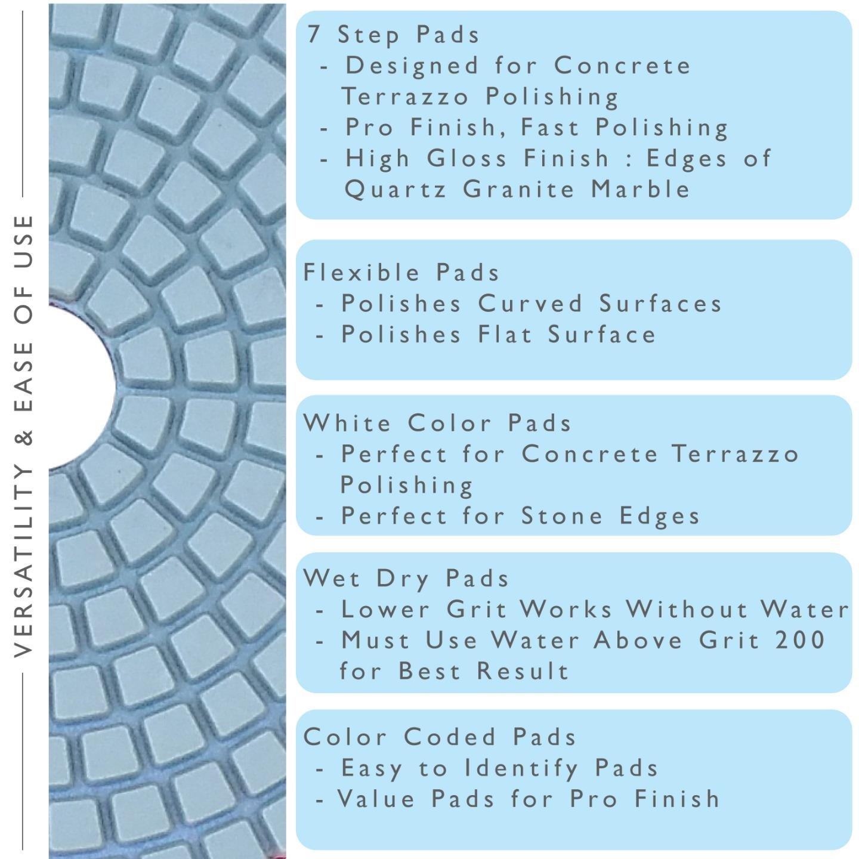 Stadea PPW139D Diamond Polishing Pads 4