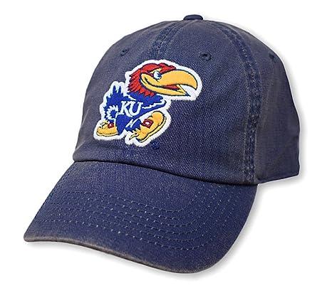 competitive price ddd1d c7997 Elite Fan Shop Kansas Jayhawks Icon Blue Hat - Adjustable