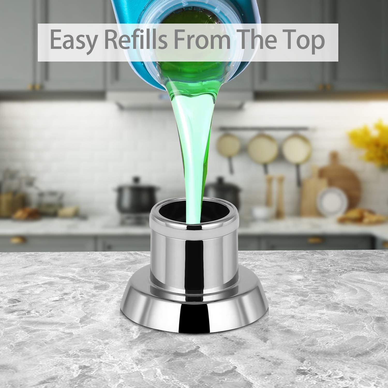 Amazon.com: Samodra Dispensador de jabón para fregadero de ...
