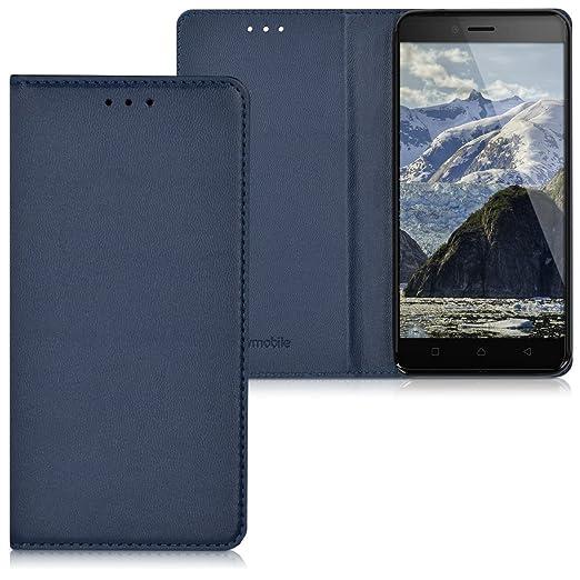 2 opinioni per kwmobile Custodia per Lenovo K6- Cover a libro in simil pelle per cellulare-