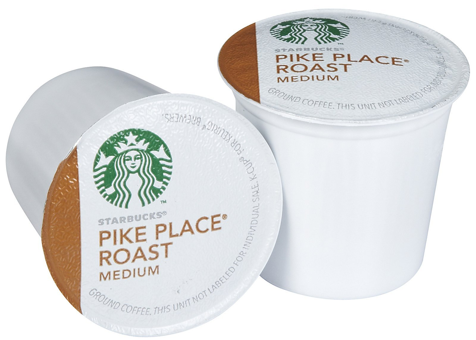 Starbucks Pike Place Medium Roast Single Cup Coffee for Keurig Brewers, 4 Boxes of 24 (96 Total K-Cup pods) by Starbucks