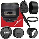 Nikon AF-S NIKKOR 85mm f/1.8G Lens Bundled Accessory Kit