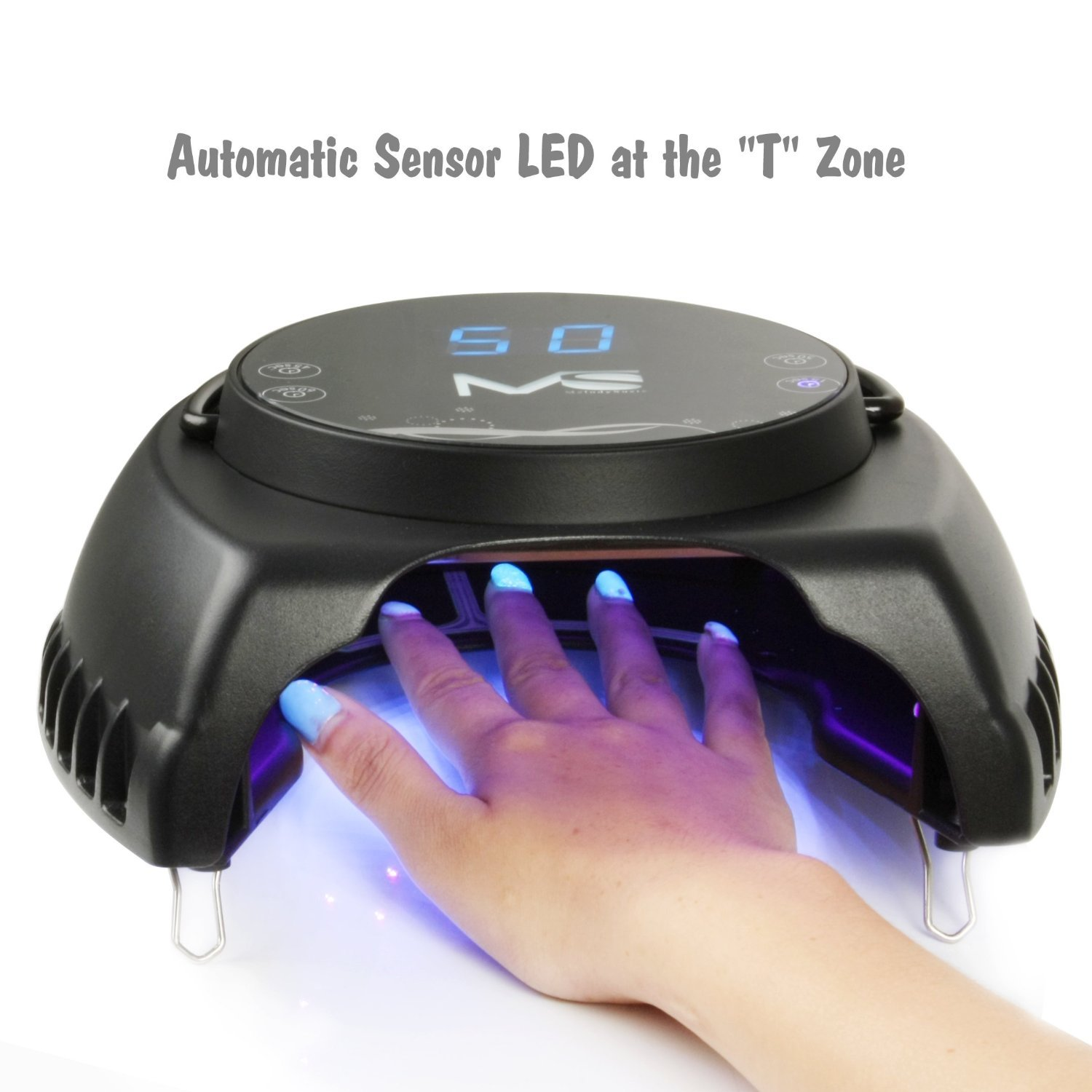 Amazon.com: MelodySusie Pro60W Nail Lamp - Mixed LED&UV Lamp Beads ...