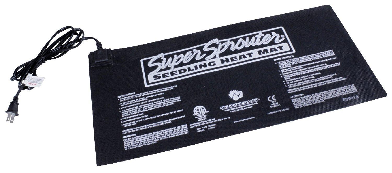 Super Sprouter Seedling Heat Mat - 10'' x 21''