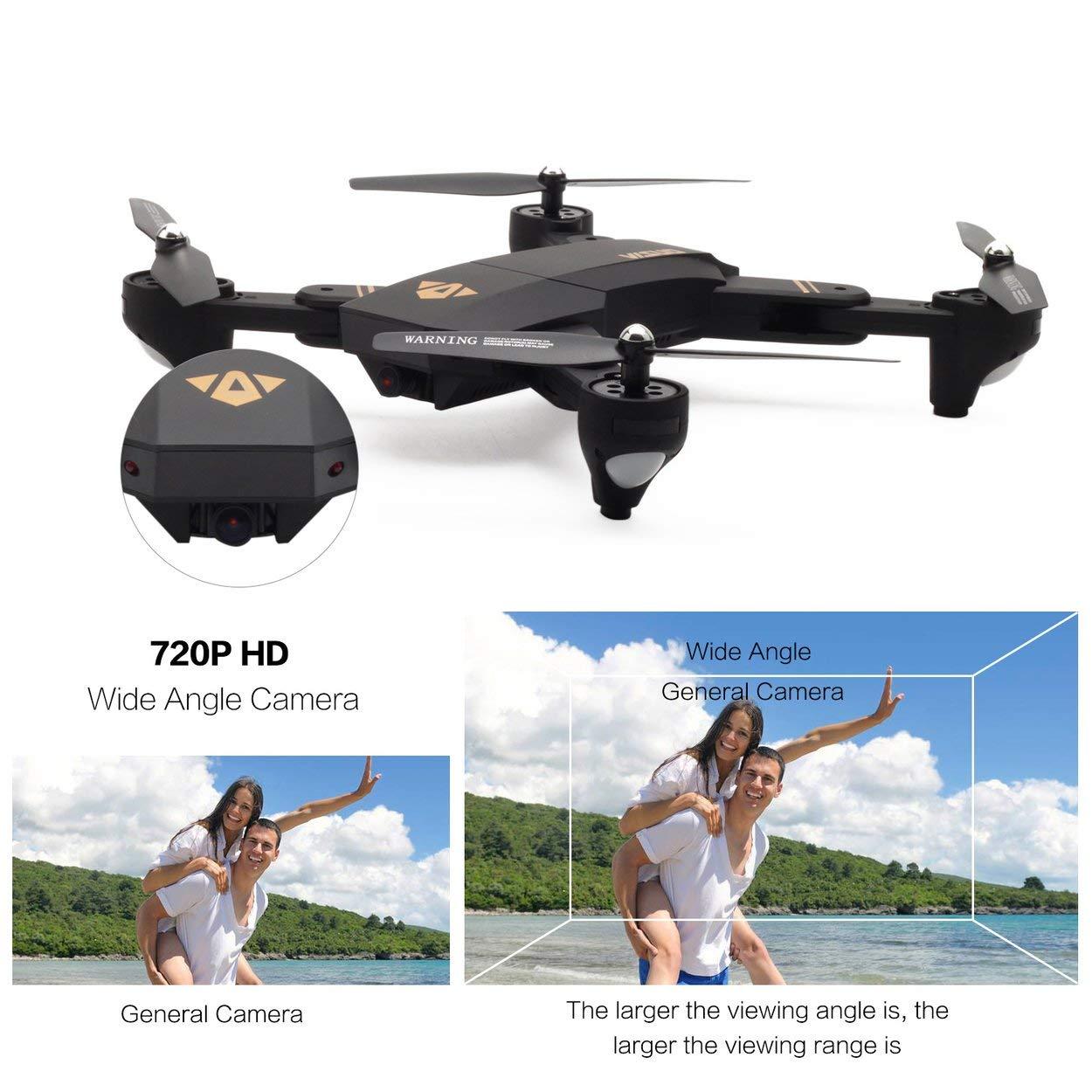 Lorenlli Ajuste VISUO XS809HW 2.4G Plegable FPV Selfie Drone RC ...