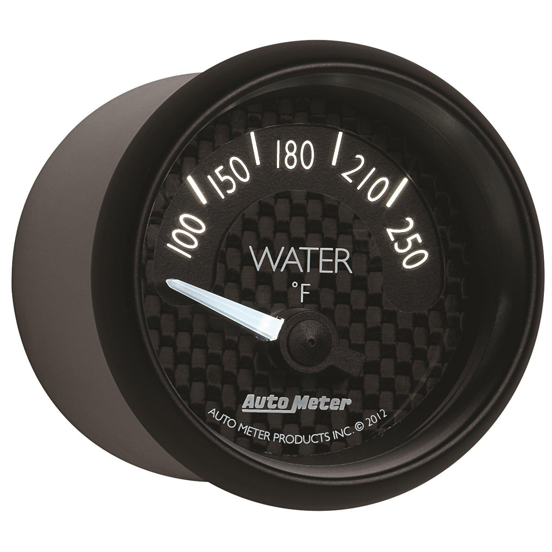 Auto Meter 8037 GT Series Mechanical Water Temperature Gauge