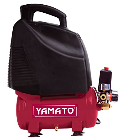 Yamato - Compresor de aire,5hp Sin Aceite