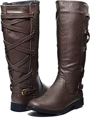 Sara Z Ladies Riding Boot with Lace Up