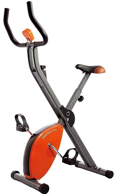12 opinioni per Star Shaper- Cyclette pieghevole, 89 x 43 x 114 cm, colore arancione/grigio/nero