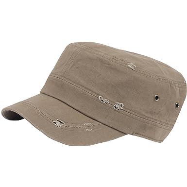 573b8c94868 RaOn G62 Men Distressed Vintage Plus Size XL XXL Big Army Cap Baseball Hat  Truckers (