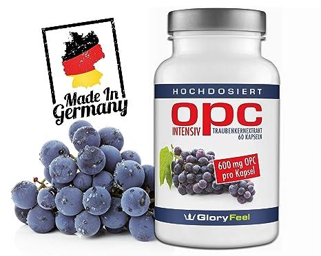 OPC extracto de semillas de uva intensivement – la más elevada Grapeseed Extract de dose –