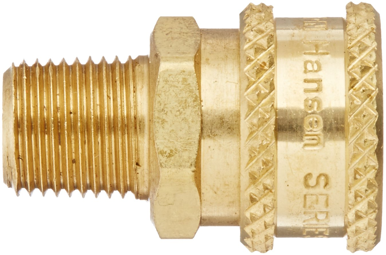 Pack of 4 Pack of 4 1//8 Body 1//8 Port Size Eaton Products 1//8-27 NPTF Male 1//8 Port Size 1//8 Body Plug 1//8-27 NPTF Male Eaton Hansen B1T10 Brass Straight Through Ball Lock Hydraulic Fitting