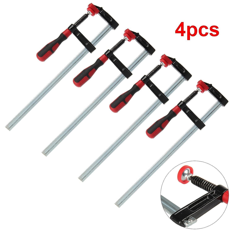 2x 12 /& 2 x 24Long Quick Slide Wood Clamp 6pc F Clamp Bar Clamp 2x 6