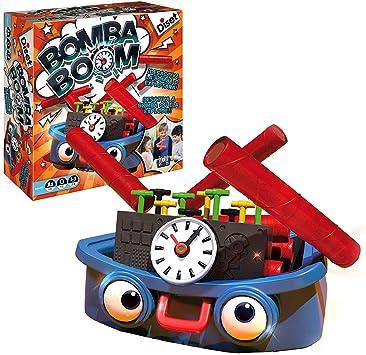 Diset - Bomba Boom, Juego de Habilidad, S.A 62303: Amazon.es ...