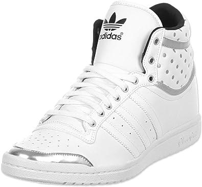 Adidas Originals Top Ten Hi Sleek Up, Zapatillas de Estar por casa para Mujer, Blanco, 43.3333333333 EU: Amazon.es: Zapatos y complementos