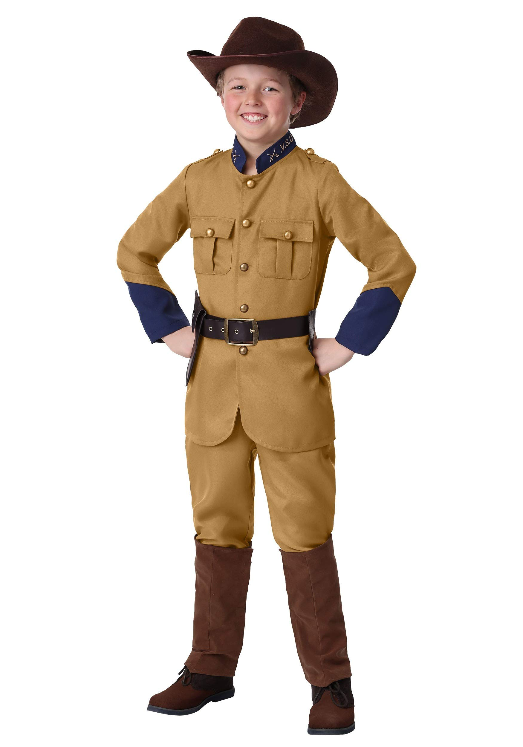 Boy's Teddy Roosevelt Costume Small by Fun Costumes