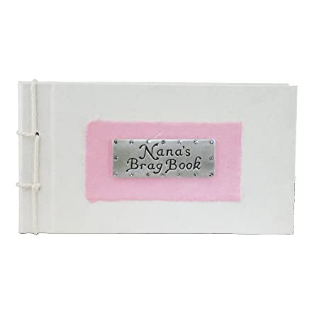 Nanas Brag Book Pink Photo Album Gift Amazoncouk Kitchen Home