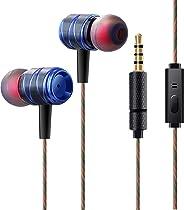 Auriculares In Ear Audífonos,Auriculares de Música con Micrófono Auriculares Estéreo Coge el teléfono Control de Volumen Para iPhone 3 4 5 6 6s Plus iPad 3.5mm Audio, Samsung, Huawei,Xiaomi Sony