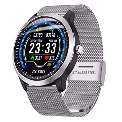 FWRSR Smartwatch Men Display Heart Rate ECG Monitor de sueño ...