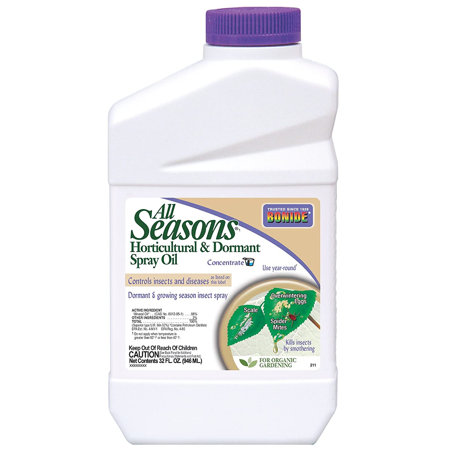 amazon com bonide all seasons concentrate pest control spray 1