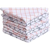 HSR Collection Cotton Multipurpose Kitchen Napkins, (18X18 Inches, Multicolour)