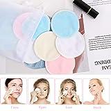 Makeup Remover Pads - 16 Pack Reusable Face Pads