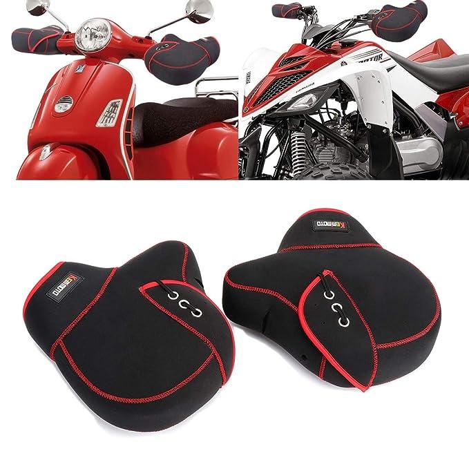 Amazon.com: KEMIMOTO - Manoplas para manillar de motocicleta ...