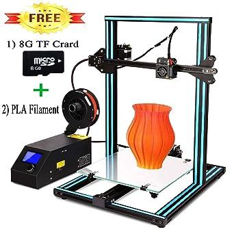 LIONPORE A10S - Impresora 3D (aluminio, 2 husillos, eje Z de alta ...