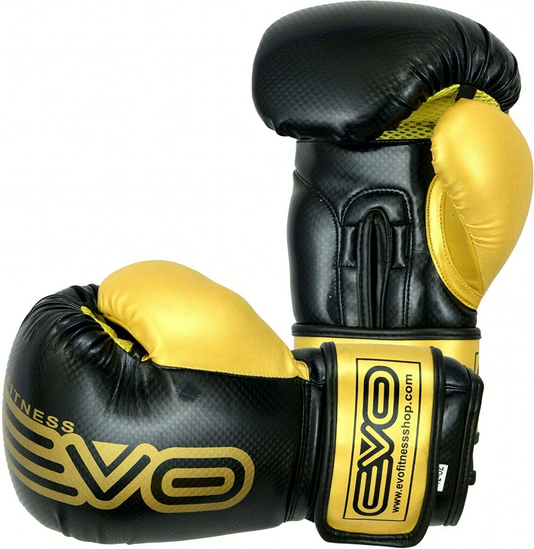 Evo Maya Cuir Gants de Boxe MMA Sac De Frappe Entra/înement Kick Boxing entra/înement Gant