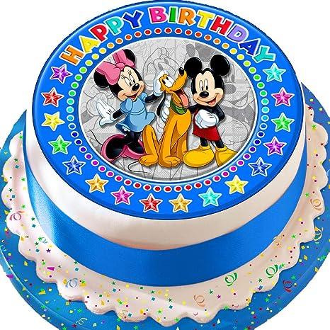 Decorazione Per Torte Di Compleanno In Pasta Di Zucchero