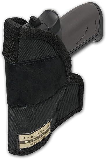 Tactical Concealment Gun Pistol Pocket Holster Handgun Bag for 22//25//380