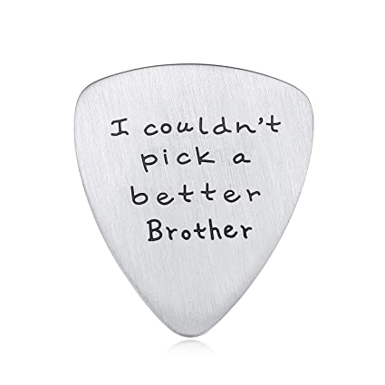 Amazon Jureeone Birthday Gift For Brother Mens Guitar Pick