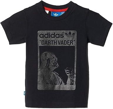 De acuerdo con Disfraces gradualmente  Amazon.com: Adidas Star Wars - Camiseta para niños: Clothing