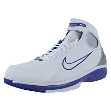 new product ee132 02ffb NIKE Air Zoom Huarache 2K4 (Kobe) White/Platinum/Purple