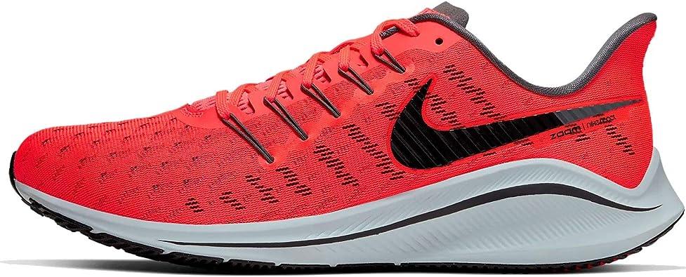 Nike Air Zoom Vomero 14 Men's Running Shoe Bright Crimson/Black-Dark Grey  12.0