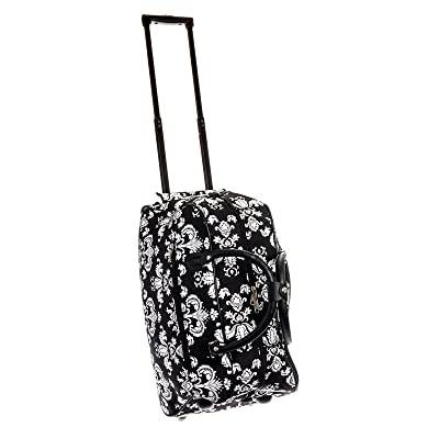 JChronicles 21 inch Carry On/ Rolling Duffle Bag