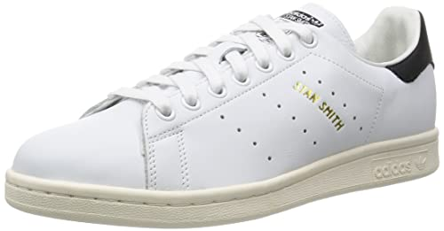 adidas Stan Smith, Sneaker Uomo, Bianco Footwear White/Core Black, 46 EU