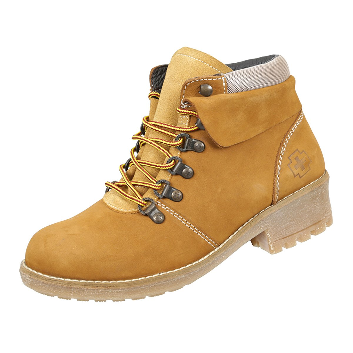 Swissbrand Women's Outdoors Ankle Lace-Up Boot Gold 8