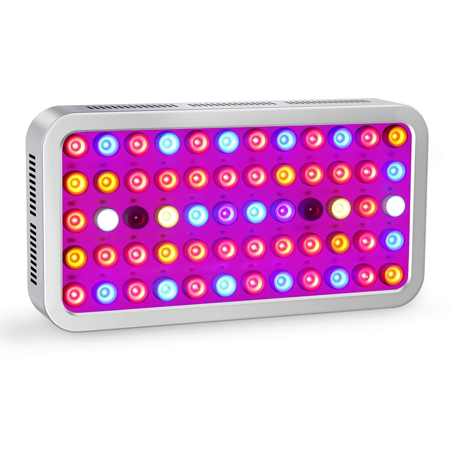 Roleadro Dimmable LED Grow Light 600W Led Plant Grow Lamp Led Hydroponic Lights with VEG&BLOOM Channels for Grow Tent,Greenhouse,Hydroponic Plants Growth