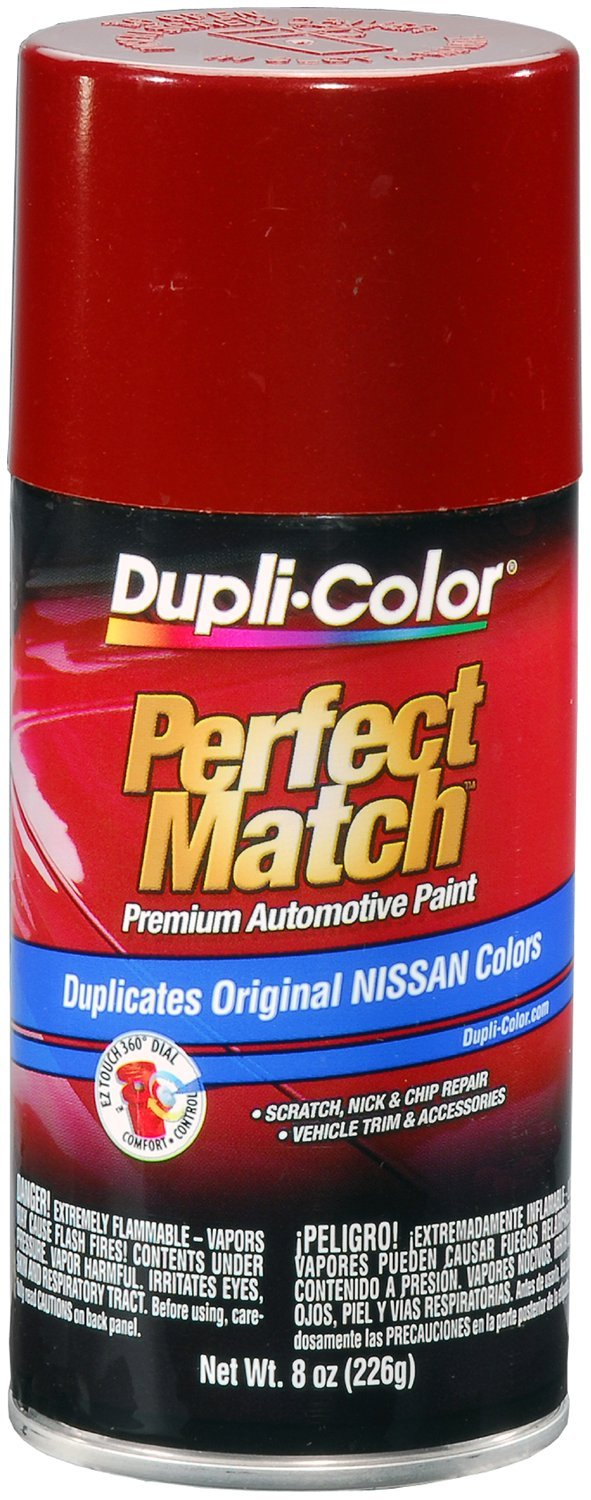 Dupli-Color (BNS0570-6 PK) Cherry Red Pearl Metallic Nissan Perfect Match Automotive Paint - 8 oz. Aerosol, (Case of 6)