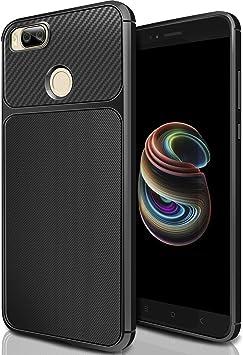ivencase Funda Xiaomi Mi A1 Ngero, Carcasa Slim Soft TPU Silicone ...
