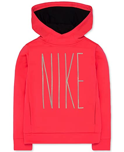 0ffd2b9d4e Amazon.com: Nike Therma-FIT Pullover Hoodie, Toddler Girls: Clothing