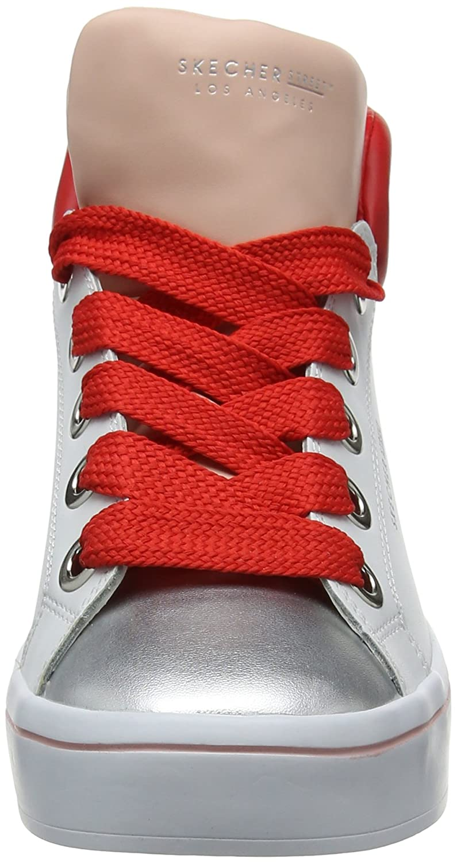 ... Skechers Damen Hi-Lites-Block Poppers Hohe (Weiß) Sneaker Weiß (Weiß ... e09e52a394