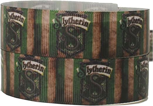 2 m x 22 mm de ancho Slytherin Snake Harry Potter House Wizard ...