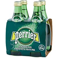 PERRIER Regular Sparkling Mineral Water - 4 x 330 ml